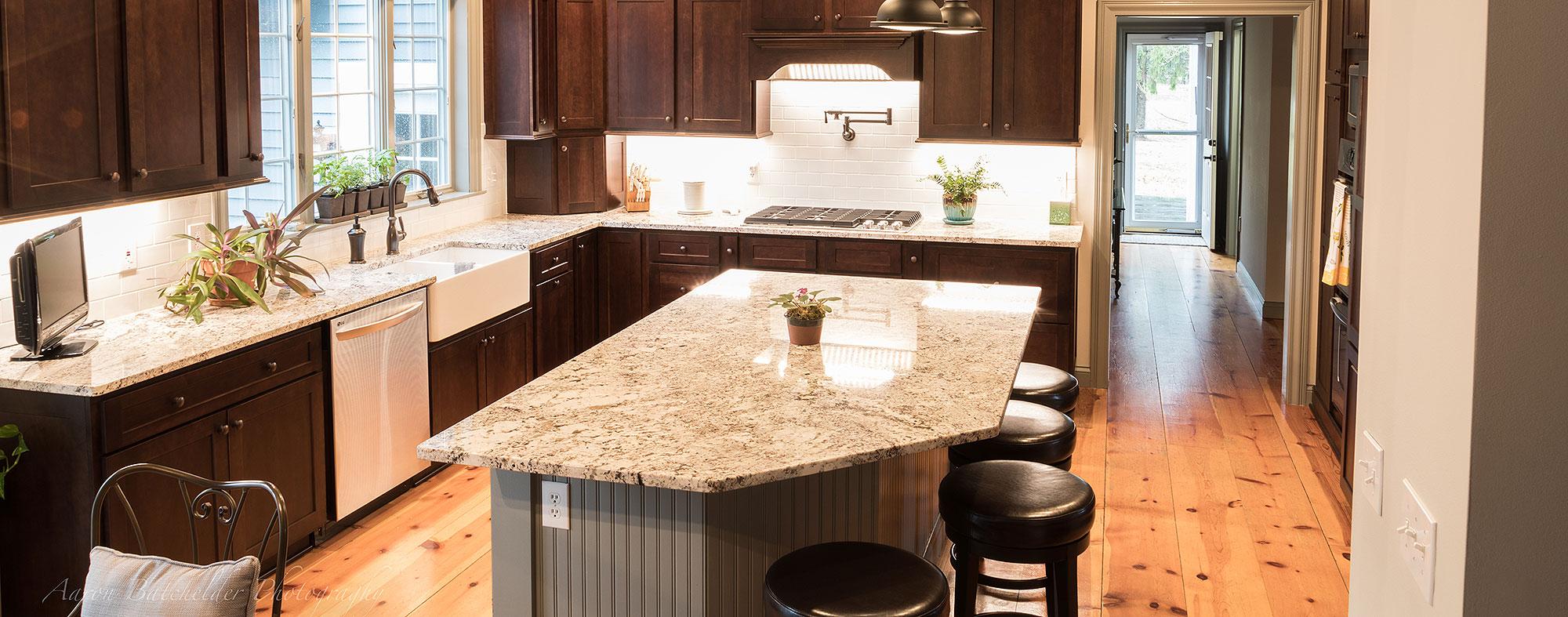 Cabinets and Granite Countertop